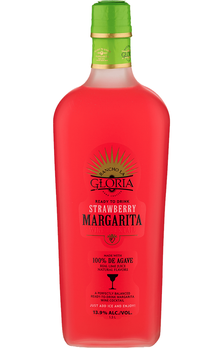 rancho la gloria strawberry margarita 1.5L 1